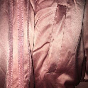 4f566bafa31 adidas Jackets   Coats - Adidas Satin Rose Gold Bomber Jacket